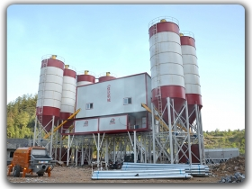 China 2x150m3/h Concrete Batching Plant Manufacturer,Supplier