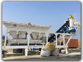 mobile kongkreto batching plant